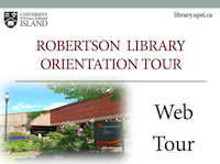 Robertson Library Web Tour