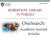 OneSearch: Academic Journal Articles