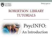 PsycINFO: An Introduction