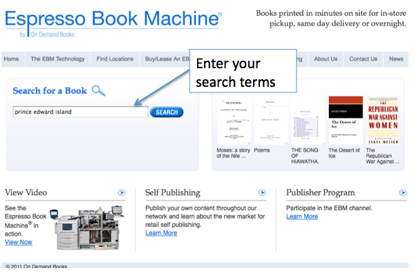 Print a Public Domain Google Book | Robertson Library